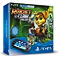 Console Playstation Vita Wifi +  The Ratchet & Clank Trilogy  + Carte M�moire 8 Go pour PS Vita