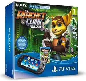 Console Playstation Vita Wifi +  The Ratchet & Clank Trilogy  + Carte Mémoire 8 Go pour PS Vita