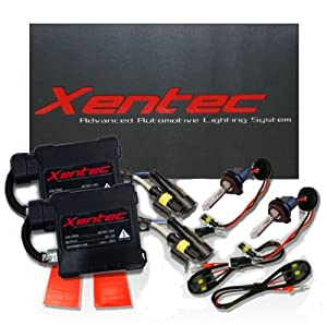 XENTEC H4 6000K HID Slim Ballast HID Xenon Kit (HB2/9003 Ultra White) single beam