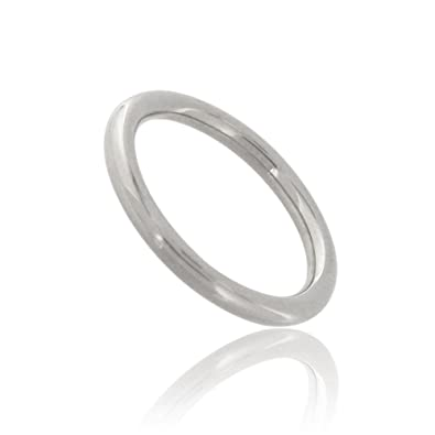 Tous mes bijoux Men 9 k (375) White Gold Rings