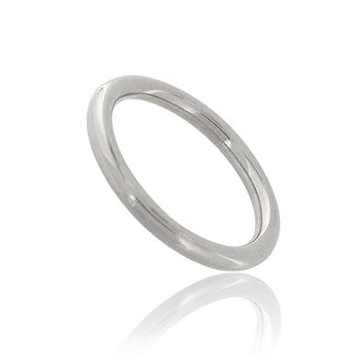 Tous mes bijoux Men 9 k (375) White Gold Rings
