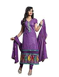 DivyaEmporio Women's Salwar Kameez Suit Dupatta Unstitched Dress Material (Free Size) - B00RXETKMA