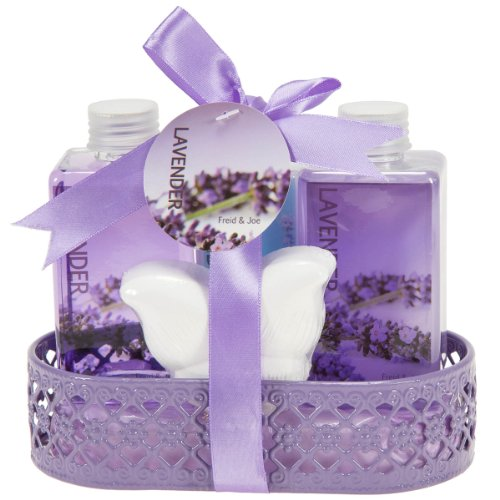 Best Lavender Basket Lotion Bubble Shower