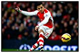 Styzzy Alexis Sanchez Footcall Team Player #Sports Football-(Arsenal FC and Chilean Team Player) Poster Paper Print -4