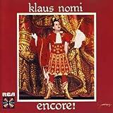 KLAUS NOMI Encore