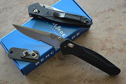 Benchmade 943S Osborne Axis Lock Knife W/ Free Benchmade Mini Sharpener