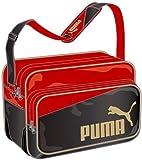 [プーマ] PUMA Enamel Shiny B Shoulder L 073281 01 (ブラック/チーム リーガル レッド/チーム ゴールド)