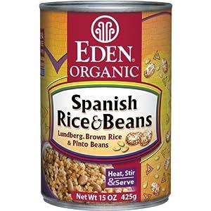 Amazon.com : Eden Organic Spanish Rice & Beans, 15-Ounce