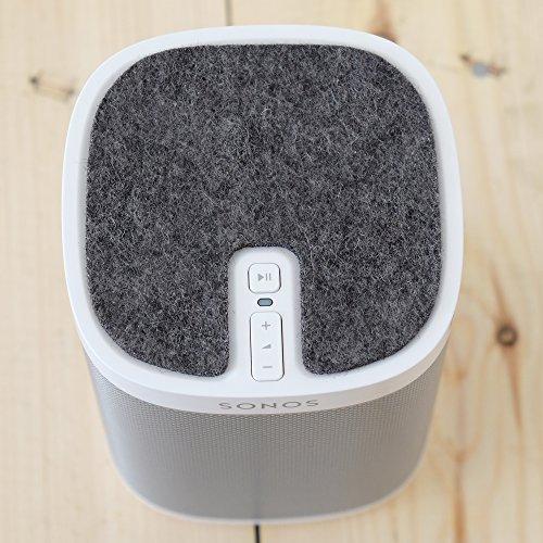 It's Filz Baby - Edition for Sonos Play 1 - feltro naturale tedesco facilissimo da applicare e rimuovere senza lasciare residui