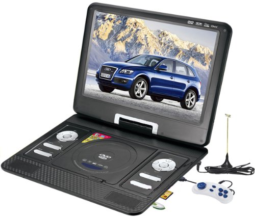 how to watch tv on portable dvd player
