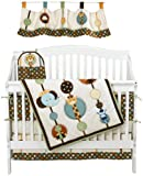 NoJo Jungle Tales 6 Piece Crib Set