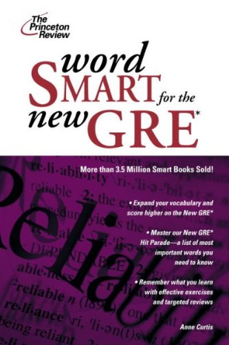 Word Smart for the Gre: A Guide to Perfect Usage...