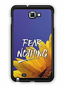 YuBingo Fear Nothing Designer Mobile Case Back Cover for Samsung Galaxy Note 1