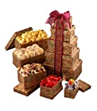 Broadway Basketeers In Appreciation Gift Tower (Kosher)