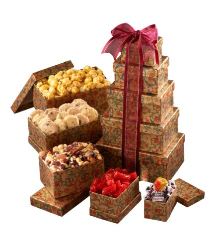 Broadway Basketeers In Appreciation Gift Tower