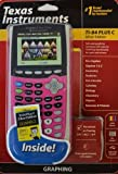 Texas Instruments TI-84 Plus C Silver Edition Includes Dummies Manual Inside (light pink)