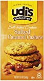 Udis Gluten Free Soft Baked Cookies, Salted Caramel Cashew, 9.17 Ounce