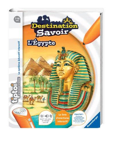Ravensburger - 00594 -  Jeu Éducatif Électronique - Tiptoi - Livre - Destination Savoir Egypte Tiptoi