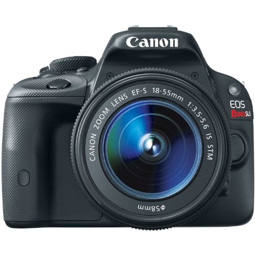 Canon EOS Rebel SL1 Digital SLR with 18-55mm STM Lens(Certified Refurbished) (Canon Sx 510 compare prices)