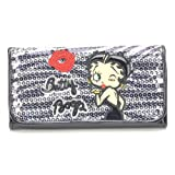 Classic Beauty Betty Boop Long Trifold Wallet