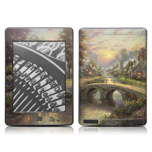 DecalGirl Kindle Touch Skin - Sunset on Lamplight
