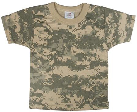 ACU Digital Camouflage Infant T-Shirt Army Universe Tees Shirts ... 2f8c90e2c9b