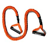 "Stroops 48"" Slastix Power Band w/ Orange Sleeve & Handles - Medium Resistance"