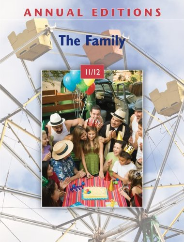 Annual Editions: The Family 11/12