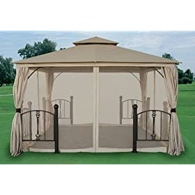 12 X 12 Gazebo Canopy Replacement Garden