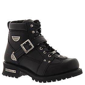 Men's Milwaukeeu00ae Road Captain Zip Boots Black, BLACK, 8.5EEE