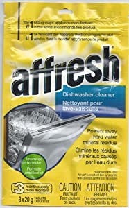 Whirlpool Affresh Dishwasher Cleaner 3-Tablets