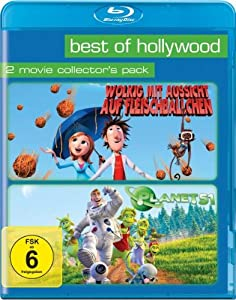 Best of Hollywood 2012 - 2 Movie Collector's Pack 49 (Wolkig mit Aussicht auf Fleischbllchen / Planet 51) [Blu-ray]