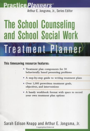 The School Counseling and School Social Work Treatment...