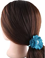 Anuradha Art Blue Colour Stylish Hair Accessories Hair Band Stylish Rubber Band For Women/Girls