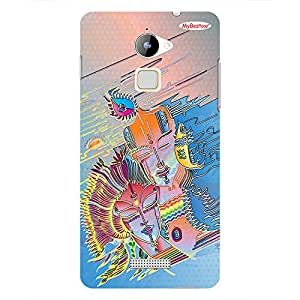 Radha Krushna Graphic - Mobile Back Case Cover For COOLPAD NOTE 3 LITE