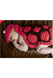 Red Crochet Hats ,Baby Animal Hat ,Photography Prop Baby Costume, Baby Crochet Knitted Set