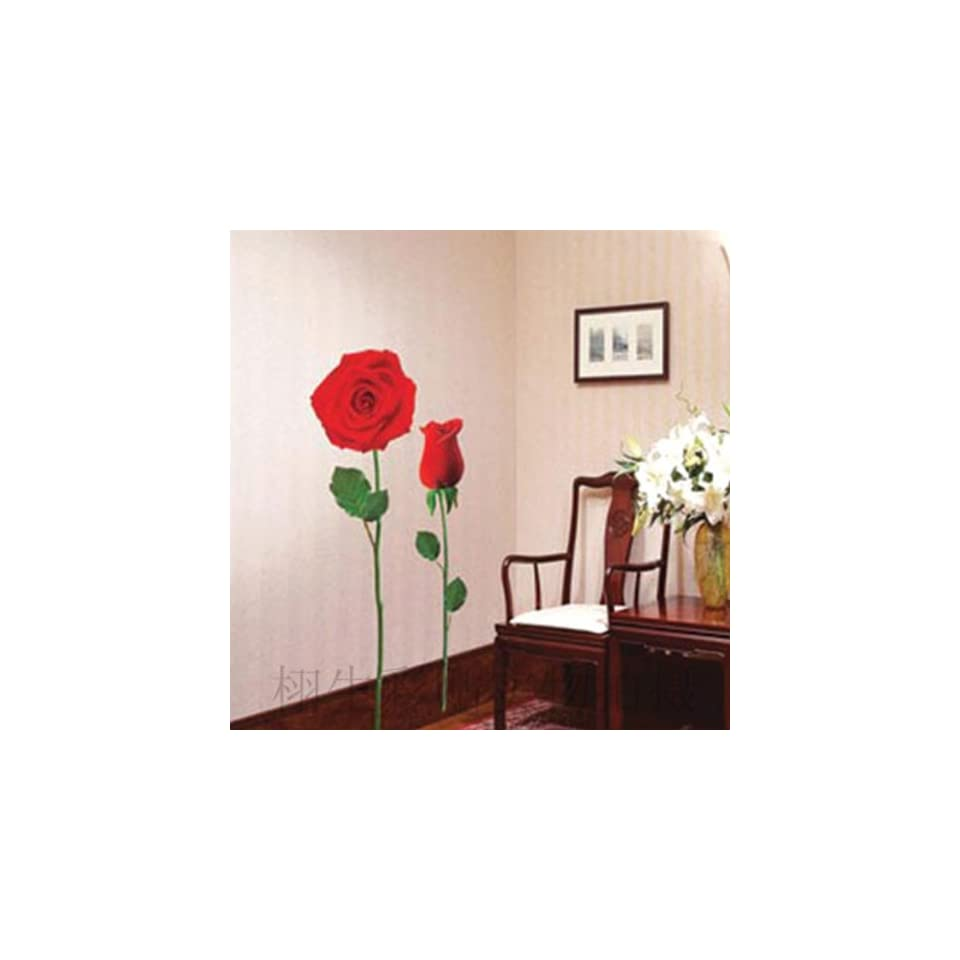 Flower Rose Wall Sticker Decals LX929