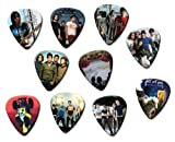 Fall Out Boy (A4 Edition) Set Of 10 Loose Guitar Picks