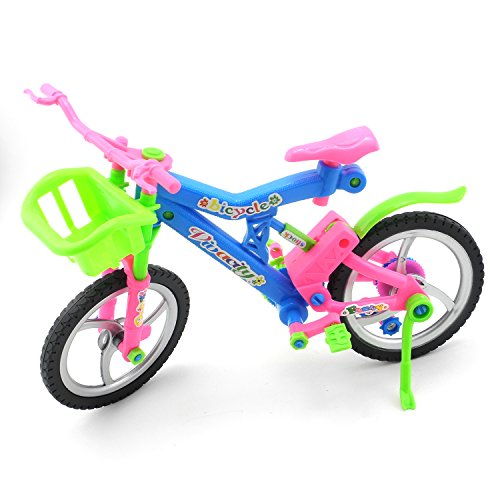 iNewcow Simulation Pretend Bicycle Children Educational DIY Bike Toys For Your Kids (Colorful 29*11*18CM)