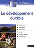 Le dveloppement durable