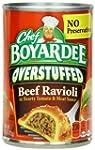 Chef Boyardee Big Beef Ravioli, Overs...
