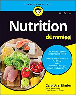 Book Cover: Nutrition For Dummies
