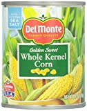 Del Monte Corn, Whole Kernel Golden Sweet, 8.75 oz