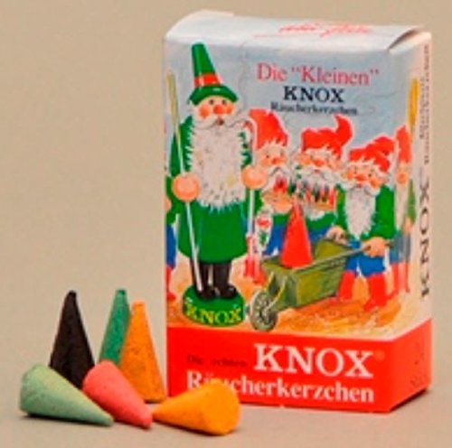 Knox MINI German Incense Cones Variety Pack Made Germany for Christmas Smokers (Mini Cone Display compare prices)