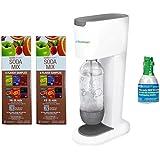 SodaStream Genesis Home Sparkling Water Maker Starter Kit w/ Reusable Bottles