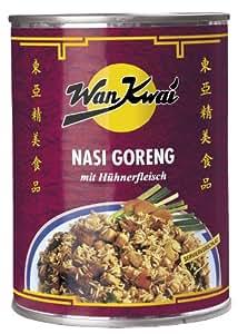 Wan Kwai  Nasi Goreng, mit Hähnchenfleisch, 4er Pack (4 x 350 g Dose)