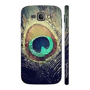 Enthopia Designer Hardshell Case Peacock Heaven Back Cover for Samsung Galaxy J1 (2016)