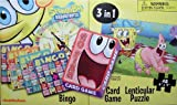 SpongeBob Squarepants 3-in-1 Bingo, Card...
