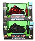 Two Pack Black Series Remote Control Racing Motorcycles -- One Black and One Red