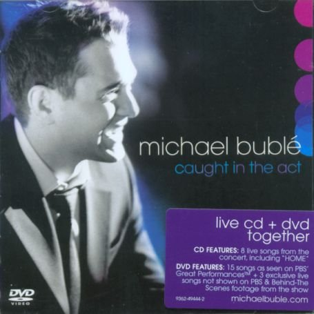 Michael Bublé - Caught In The Act (CD + DVD) - Zortam Music